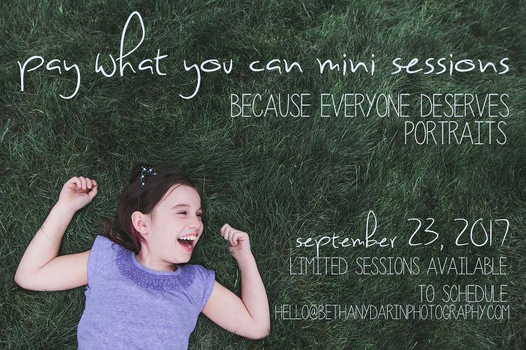 Bethany Darin Photography mini-sessions 2017